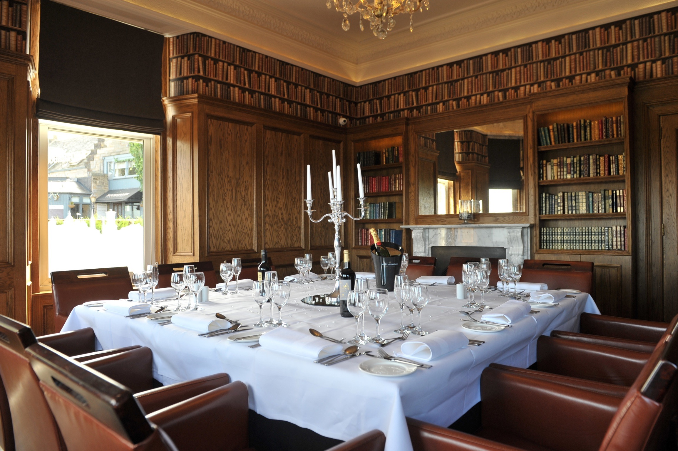 The Library Private dining