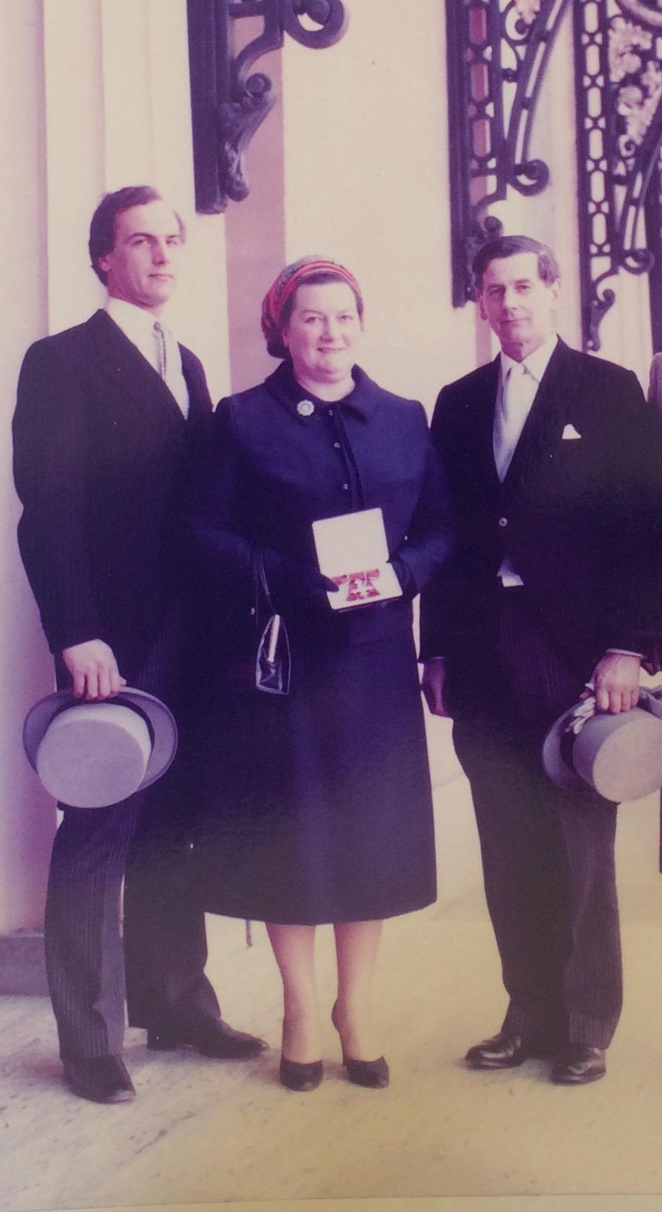 Margaret, Derwent and their Son John