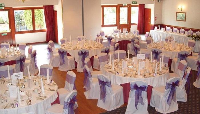 Garden Suite - Wedding set up