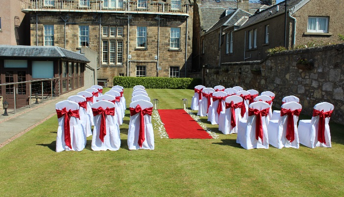 Garden Suite Wedding Red