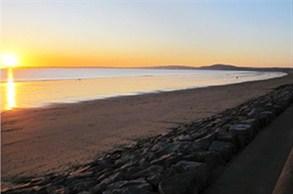 The Sweep Of Aberavon Beach