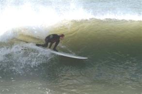 Surfing On Aberavon Beach