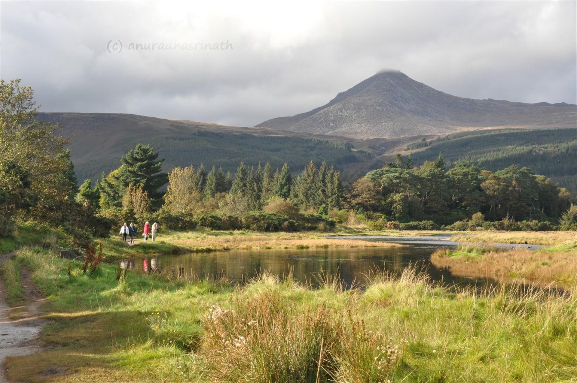 Goatfell mountain and brodick_1920x1276