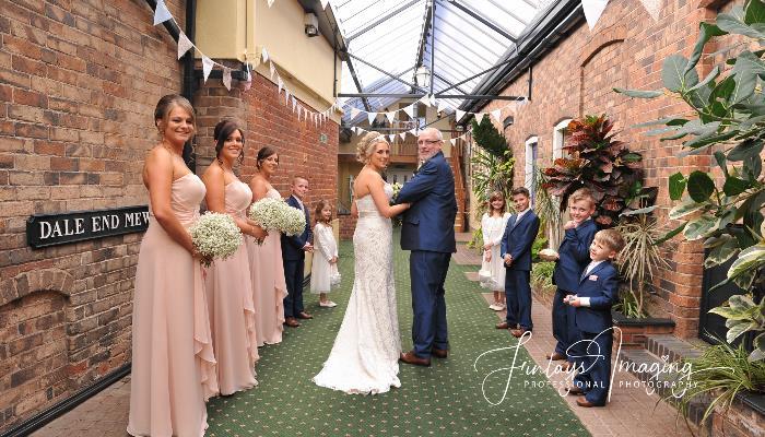 Wedding, Shropshire, Telford, Mews