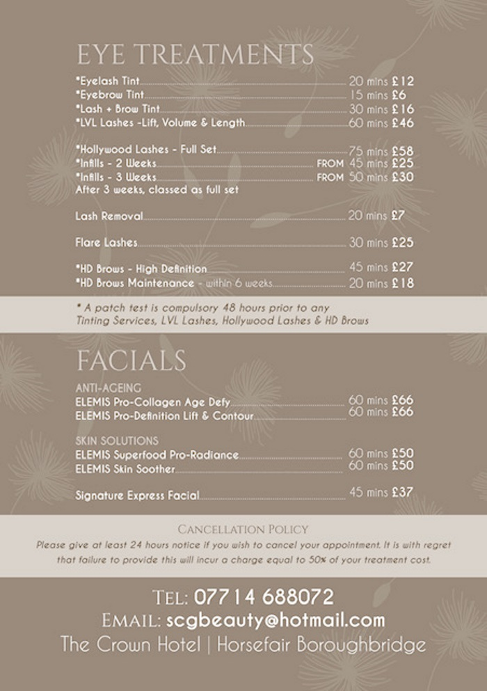 By Sonia Price List 2 Taupe22