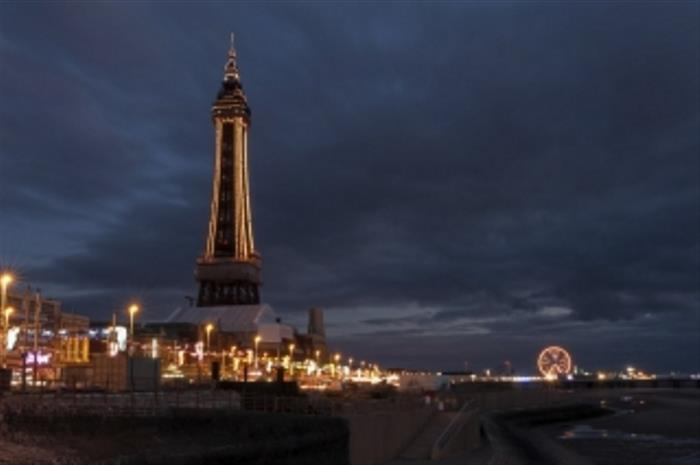 Blackpool Tower Night