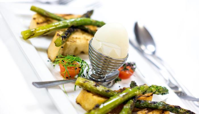 Grilled British Asparagus